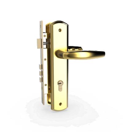 KHÓA TN HC 8566 PVD GOLD